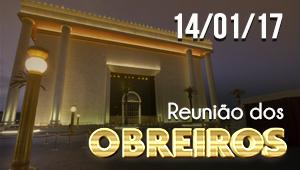 Reunião dos obreiros - 14/01/17