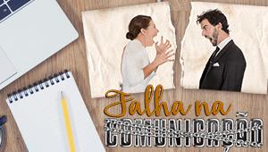 Falha na comunicação