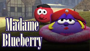 Madame Blueberry e os três amigos