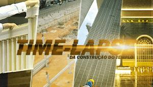 Timelapse da construção